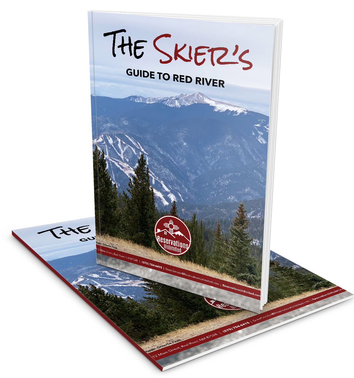 Skiers Guide - clear background